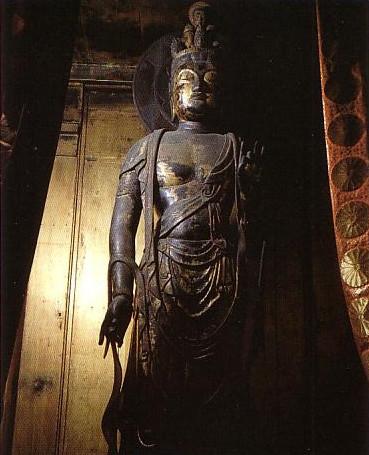 六波羅蜜寺の本尊、国宝・十一面観音菩薩立像