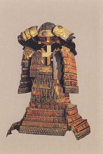 赤韋威鎧(兜・大袖付)