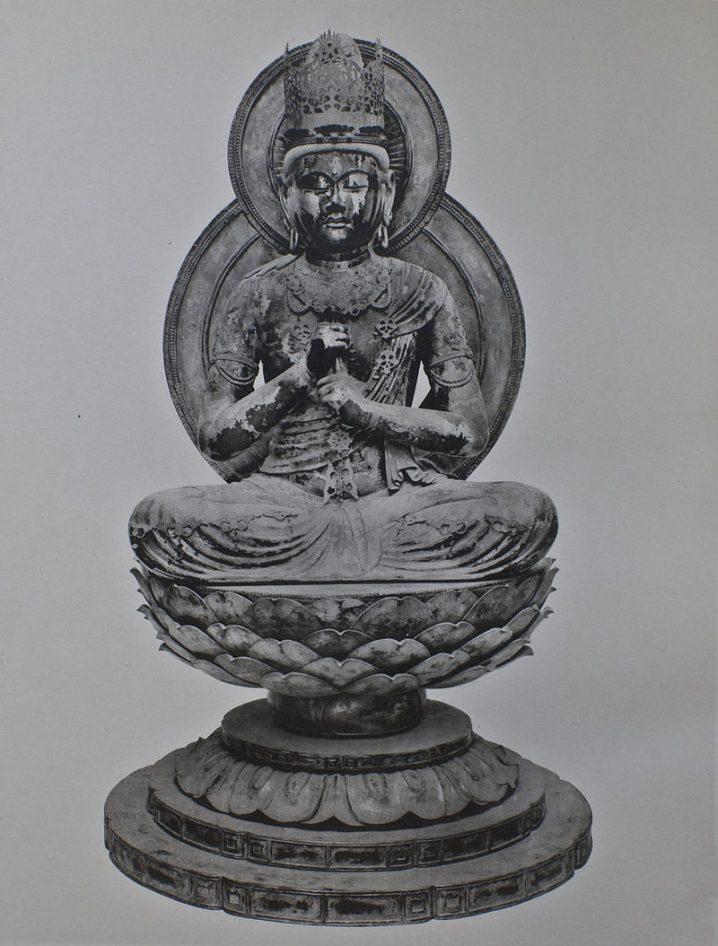 円成寺の大日如来坐像(運慶作の国宝)