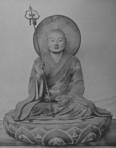 東大寺勧進所八幡殿の僧形八幡神坐像(国宝)