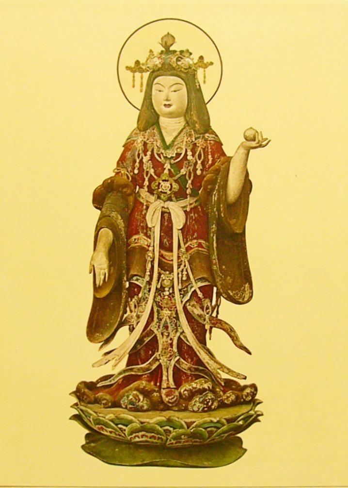 浄瑠璃寺の吉祥天立像