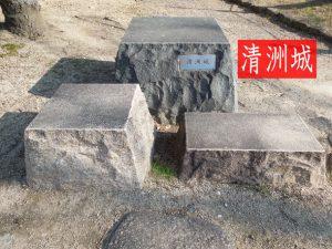 清州城のジオラマ