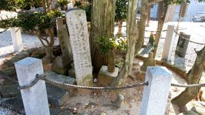 今川義元公首検証之跡の碑