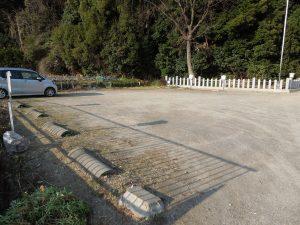 桶狭間神明社駐車場2