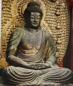 清涼寺 釈迦
