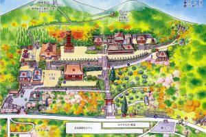 談山神社の境内案内図