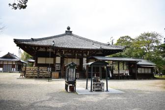 大安寺の本堂