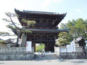 清凉寺の仁王門