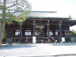 清凉寺の本堂