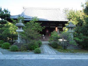清涼寺の阿弥陀堂