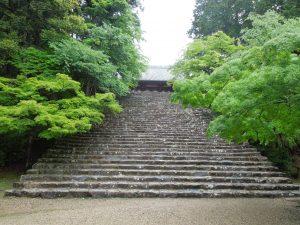 金堂前の石段