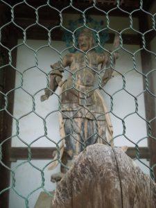 楼門の二天像