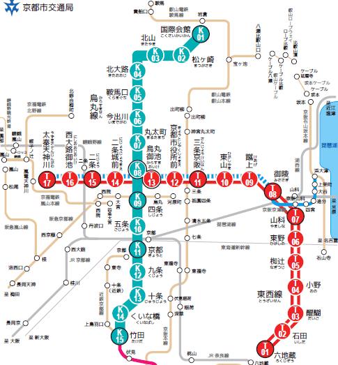 「京都 地下鉄」の画像検索結果