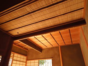 瑠璃光院の茶室天井