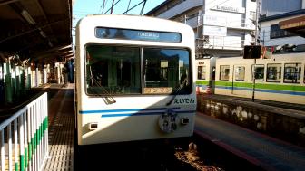 叡山電鉄(出町柳駅にて)