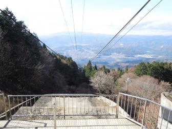 比叡山頂駅(叡山ロープウェイ)の乗り場・降り場