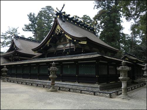 香取神宮の本殿のアイキャッチ画像