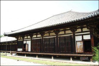 元興寺の本堂