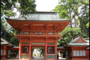 鹿島神宮の楼門のアイキャッチ画像