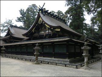 香取神宮の本殿