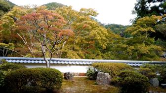 海住山寺の本坊庭園