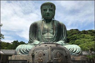 高徳院の鎌倉大仏(阿弥陀如来坐像)