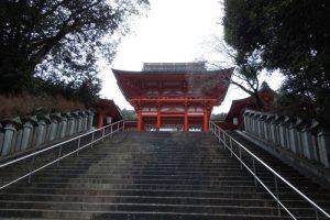 近江神宮の楼門のアイキャッチ画像