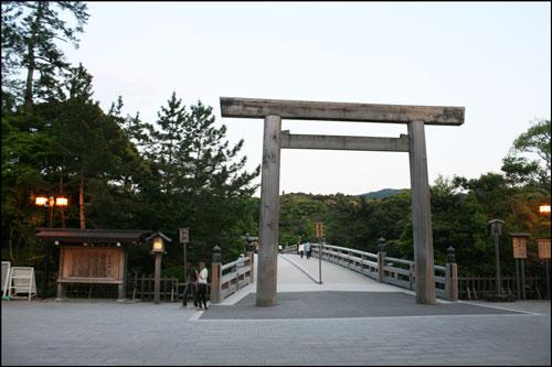 伊勢神宮内宮の宇治橋のアイキャッチ画像
