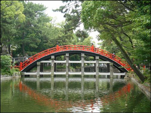 住吉大社の反橋のアイキャッチ画像