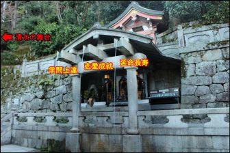 音羽の滝のご利益(清水寺)