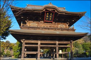 建長寺の三門のアイキャッチ画像