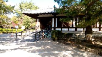 法隆寺西院伽藍の拝観入口