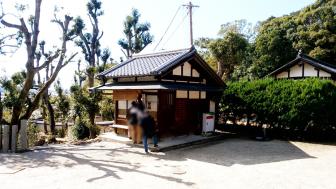 法隆寺の西円堂近くの御朱印受付