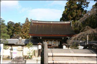 多賀大社の太閤橋と御神門