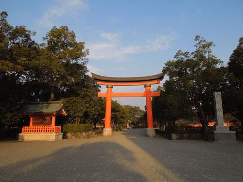 宇佐神宮の鳥居アイキャッチ画像