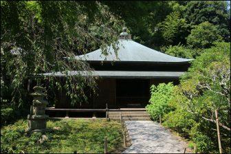 東慶寺の本堂「泰平殿」