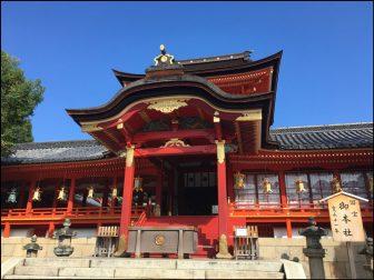 石清水八幡宮の社殿