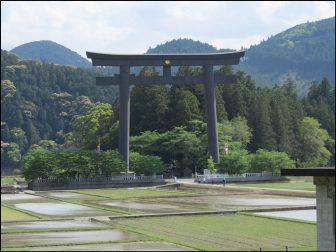 大斎原(熊野本宮大社の旧社地)