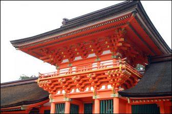 宇佐神宮の南中楼門