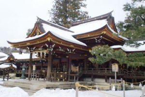 多賀大社の拝殿アイキャッチ画像