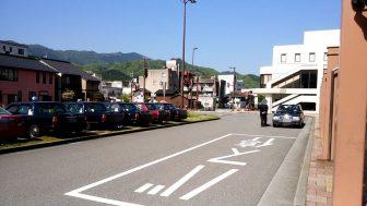 和田山駅のタクシー乗り場