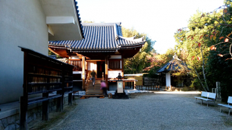 法輪寺の妙見堂