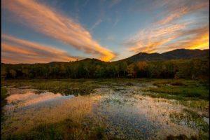 志賀高原蓮池の紅葉のアイキャッチ画像
