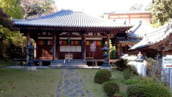 神童寺の本堂