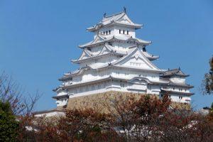 姫路城の紅葉アイキャッチ画像