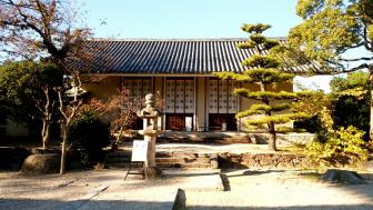 法輪寺の講堂