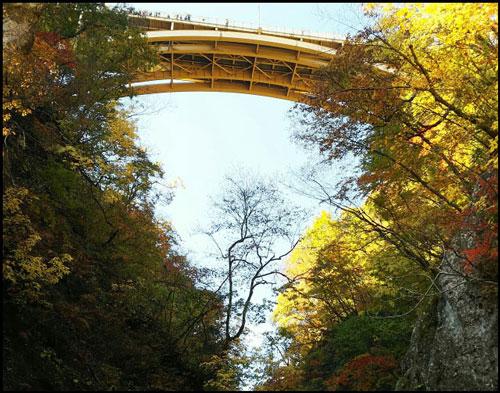 鳴子峡の紅葉アイキャッチ画像