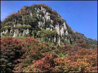 耶馬渓の紅葉