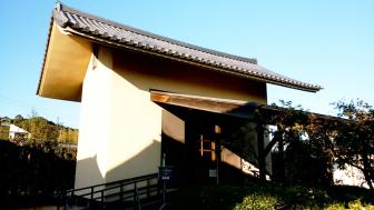 法起寺の収蔵庫