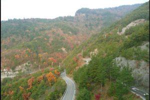 寒霞渓の紅葉のアイキャッチ画像